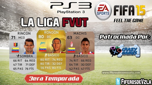 Liga FVUT3era Temporada- PS3