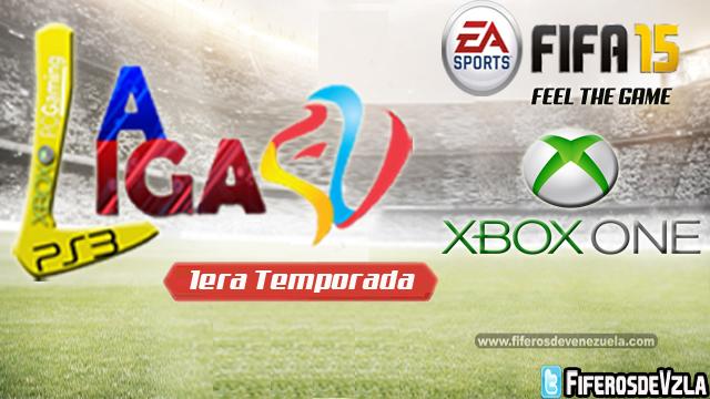 Liga FV1ra Temporada- XBOXONE