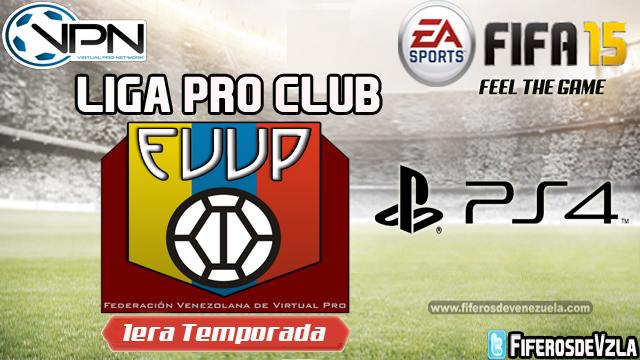 Liga FVVP1ra Temporada- PS4